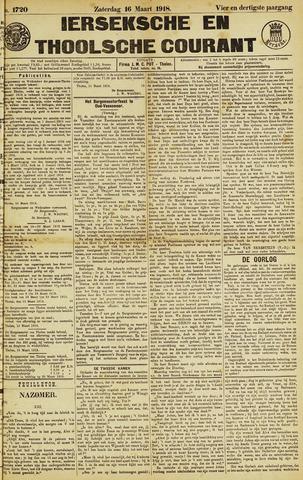 Ierseksche en Thoolsche Courant 1918-03-16