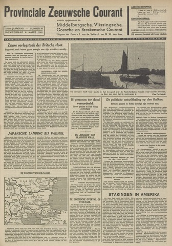 Provinciale Zeeuwse Courant 1941-03-06