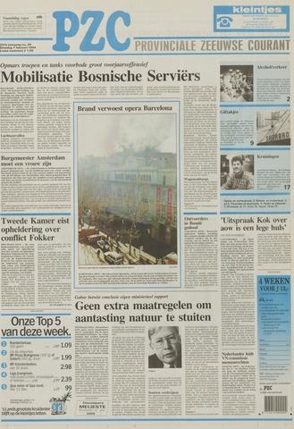 Provinciale Zeeuwse Courant 1994-02-01