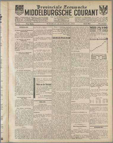 Middelburgsche Courant 1932-01-12
