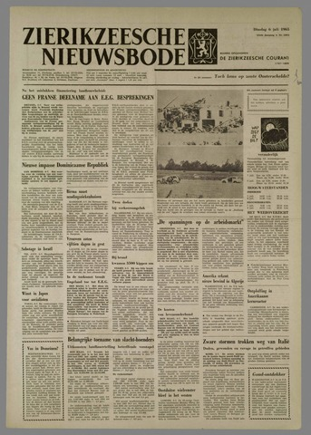 Zierikzeesche Nieuwsbode 1965-07-06
