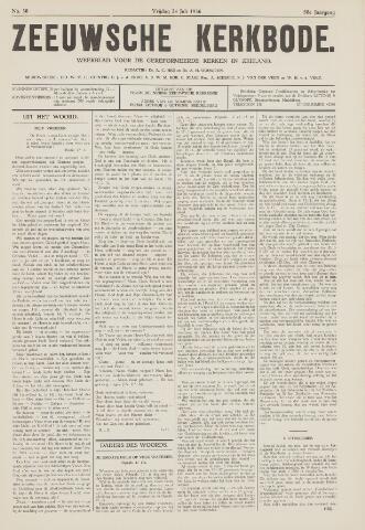Zeeuwsche kerkbode, weekblad gewijd aan de belangen der gereformeerde kerken/ Zeeuwsch kerkblad 1936-07-24