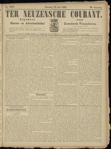 Ter Neuzensche Courant. Algemeen Nieuws- en Advertentieblad voor Zeeuwsch-Vlaanderen / Neuzensche Courant ... (idem) / (Algemeen) nieuws en advertentieblad voor Zeeuwsch-Vlaanderen 1890-07-26