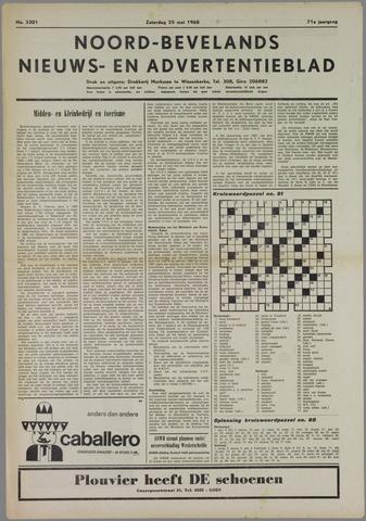 Noord-Bevelands Nieuws- en advertentieblad 1968-05-25