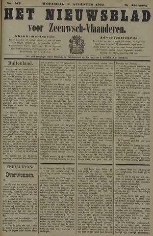 Nieuwsblad voor Zeeuwsch-Vlaanderen 1900-08-08
