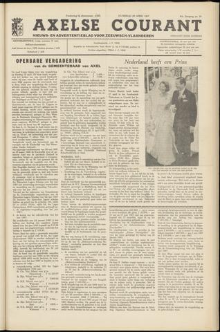 Axelsche Courant 1967-04-29