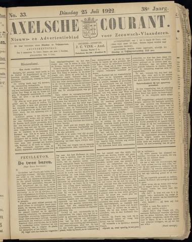 Axelsche Courant 1922-07-25