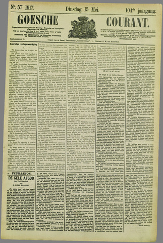 Goessche Courant 1917-05-15