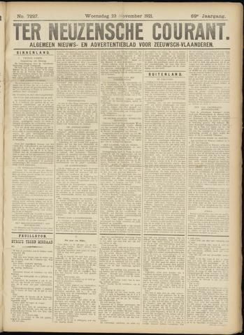 Ter Neuzensche Courant. Algemeen Nieuws- en Advertentieblad voor Zeeuwsch-Vlaanderen / Neuzensche Courant ... (idem) / (Algemeen) nieuws en advertentieblad voor Zeeuwsch-Vlaanderen 1921-11-23