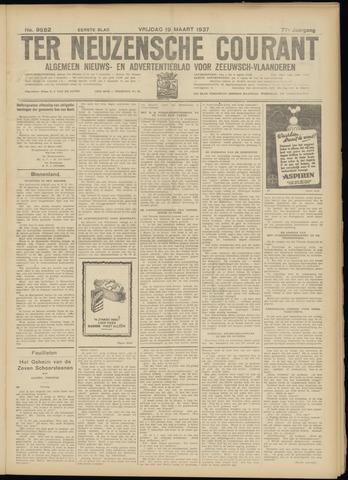 Ter Neuzensche Courant. Algemeen Nieuws- en Advertentieblad voor Zeeuwsch-Vlaanderen / Neuzensche Courant ... (idem) / (Algemeen) nieuws en advertentieblad voor Zeeuwsch-Vlaanderen 1937-03-19