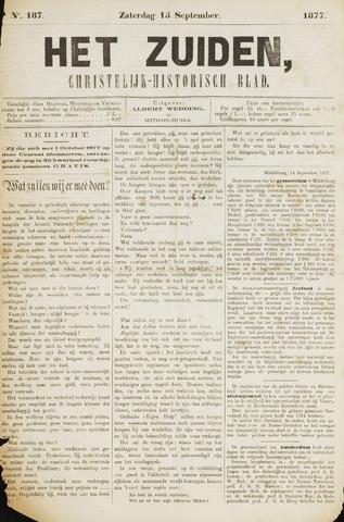 Het Zuiden, Christelijk-historisch blad 1877-09-15