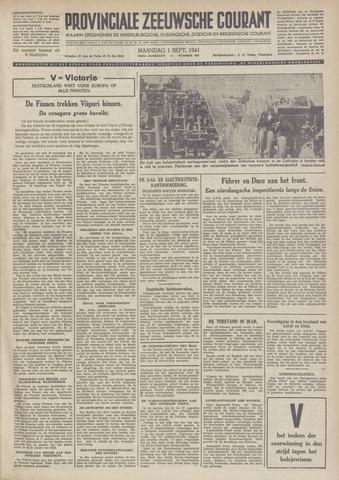Provinciale Zeeuwse Courant 1941-09-01