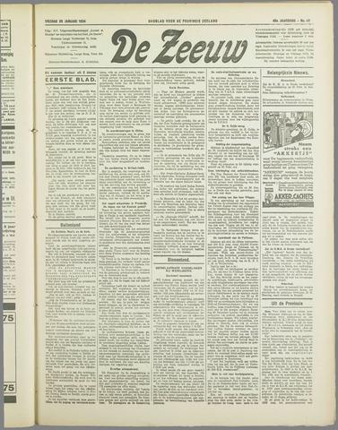 De Zeeuw. Christelijk-historisch nieuwsblad voor Zeeland 1934-01-26