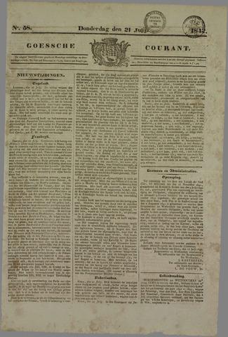 Goessche Courant 1842-07-21