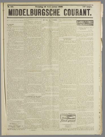 Middelburgsche Courant 1925-11-13