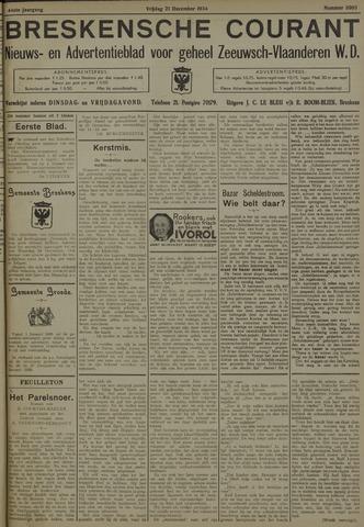 Breskensche Courant 1934-12-21
