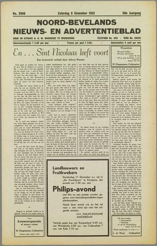 Noord-Bevelands Nieuws- en advertentieblad 1952-12-06