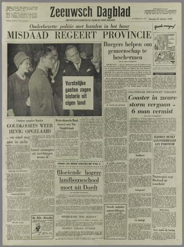 Zeeuwsch Dagblad 1960-10-25
