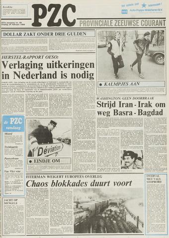 Provinciale Zeeuwse Courant 1984-02-24