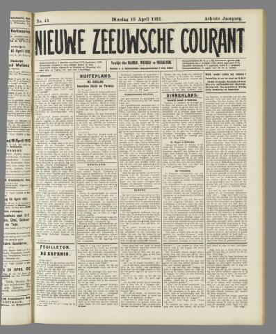 Nieuwe Zeeuwsche Courant 1912-04-16