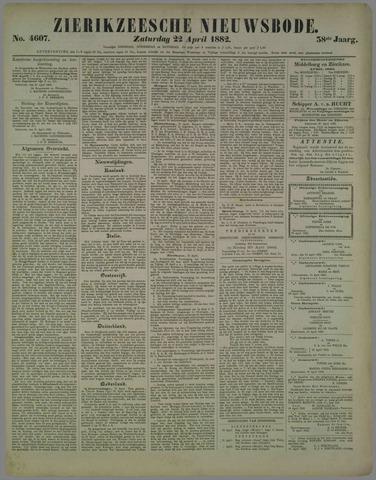 Zierikzeesche Nieuwsbode 1882-04-22