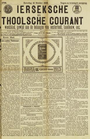 Ierseksche en Thoolsche Courant 1913-10-11