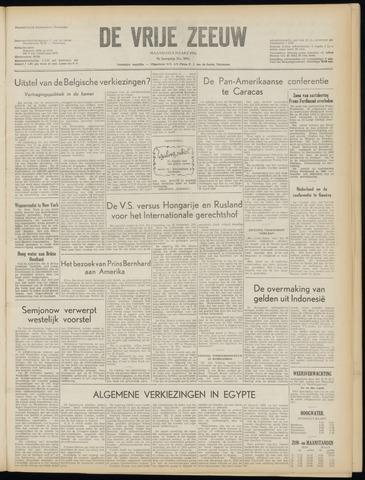 de Vrije Zeeuw 1954-03-08