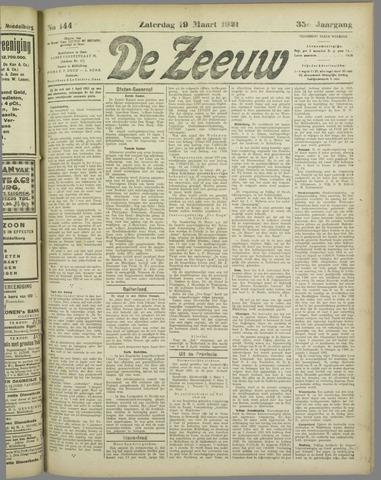 De Zeeuw. Christelijk-historisch nieuwsblad voor Zeeland 1921-03-19