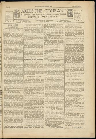 Axelsche Courant 1945-09-01