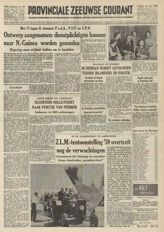 Provinciale Zeeuwse Courant 1959-06-19