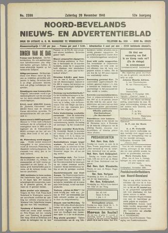 Noord-Bevelands Nieuws- en advertentieblad 1948-11-20