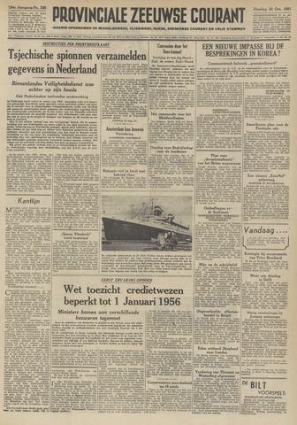 Provinciale Zeeuwse Courant 1951-10-30
