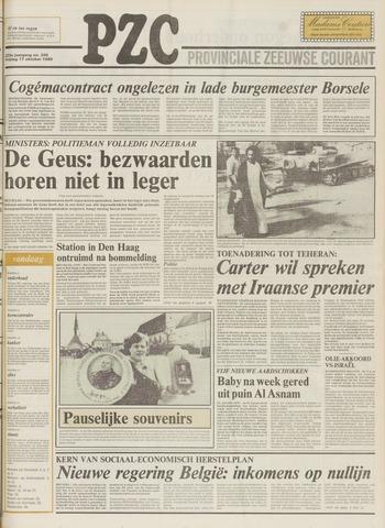 Provinciale Zeeuwse Courant 1980-10-17