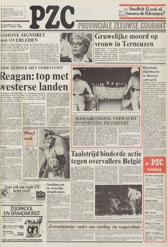 Provinciale Zeeuwse Courant 1985-10-01