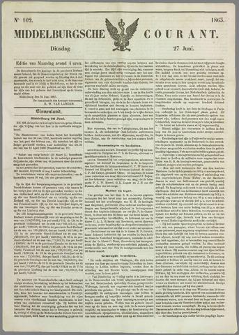 Middelburgsche Courant 1865-06-27