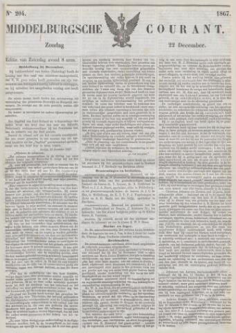 Middelburgsche Courant 1867-12-22