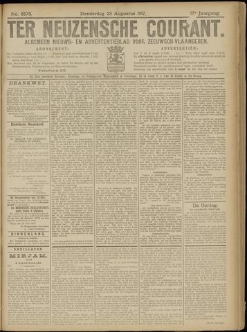 Ter Neuzensche Courant. Algemeen Nieuws- en Advertentieblad voor Zeeuwsch-Vlaanderen / Neuzensche Courant ... (idem) / (Algemeen) nieuws en advertentieblad voor Zeeuwsch-Vlaanderen 1917-08-23