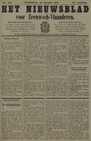 Nieuwsblad voor Zeeuwsch-Vlaanderen 1901-03-13
