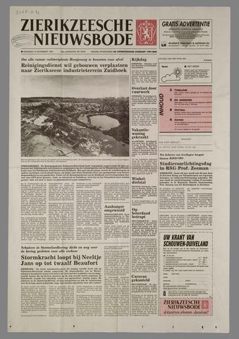 Zierikzeesche Nieuwsbode 1993-11-15
