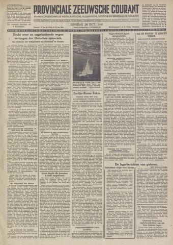 Provinciale Zeeuwse Courant 1941-10-28