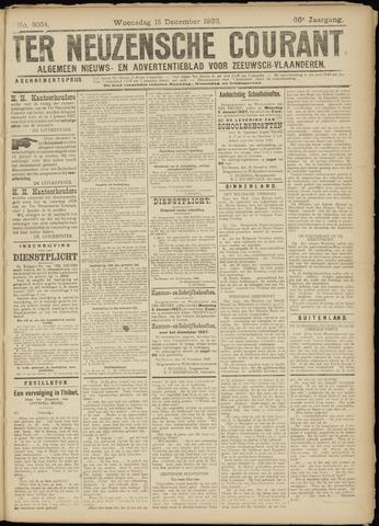 Ter Neuzensche Courant. Algemeen Nieuws- en Advertentieblad voor Zeeuwsch-Vlaanderen / Neuzensche Courant ... (idem) / (Algemeen) nieuws en advertentieblad voor Zeeuwsch-Vlaanderen 1926-12-15