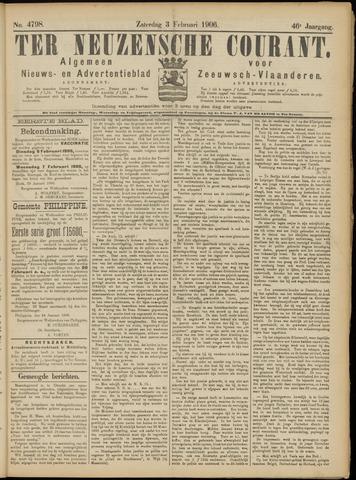 Ter Neuzensche Courant. Algemeen Nieuws- en Advertentieblad voor Zeeuwsch-Vlaanderen / Neuzensche Courant ... (idem) / (Algemeen) nieuws en advertentieblad voor Zeeuwsch-Vlaanderen 1906-02-03