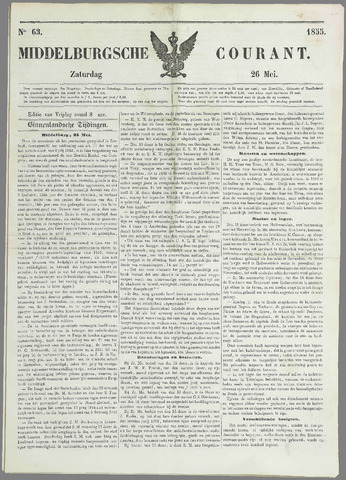 Middelburgsche Courant 1855-05-26