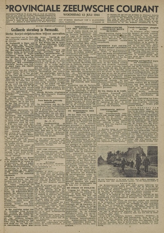 Provinciale Zeeuwse Courant 1944-07-12