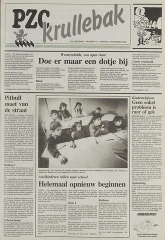 Provinciale Zeeuwse Courant katern Krullenbak (1981-1999) 1990-11-13