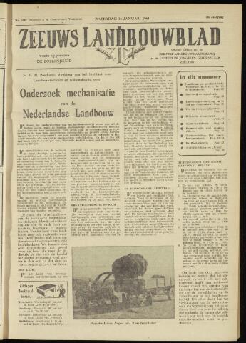 Zeeuwsch landbouwblad ... ZLM land- en tuinbouwblad 1960-01-16