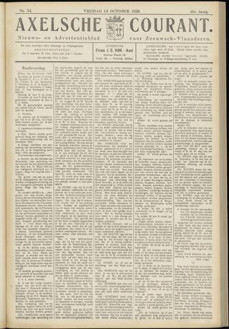 Axelsche Courant 1939-10-13