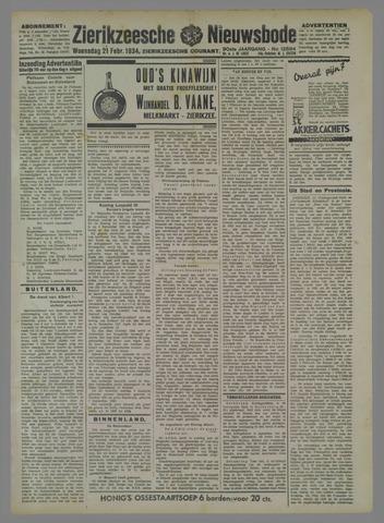 Zierikzeesche Nieuwsbode 1934-02-21