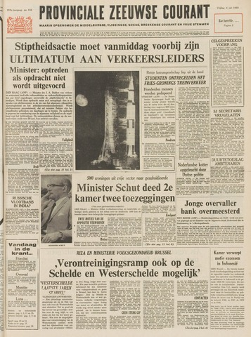 Provinciale Zeeuwse Courant 1969-07-04