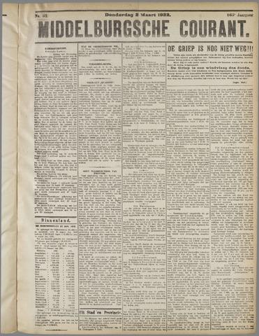 Middelburgsche Courant 1922-03-02